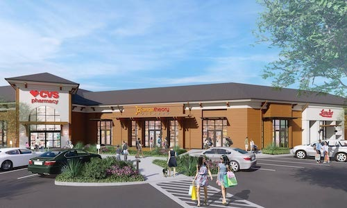 rendering of nearby retail